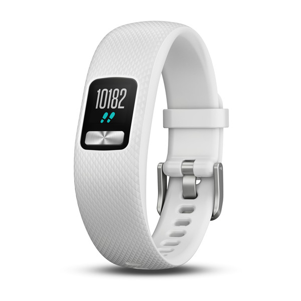 Smartwatch Garmin Vivofit 4 White - (Curea Medium)