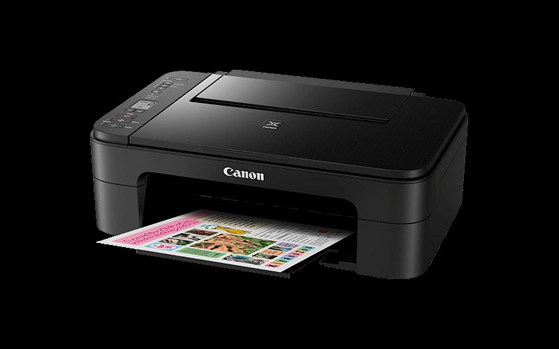 Multifunctional Inkjet Color Canon PIXMA TS3150 Black