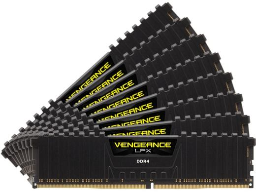 Memorie Desktop Corsair Vengeance LPX 64GB(8 x 8GB) DDR4 3600MHz Black