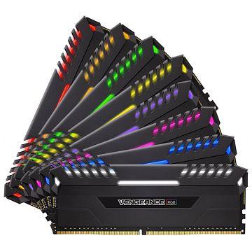 Memorie Desktop Corsair Vengeance RGB 64GB(8 x 8GB) DDR4 2933MHz
