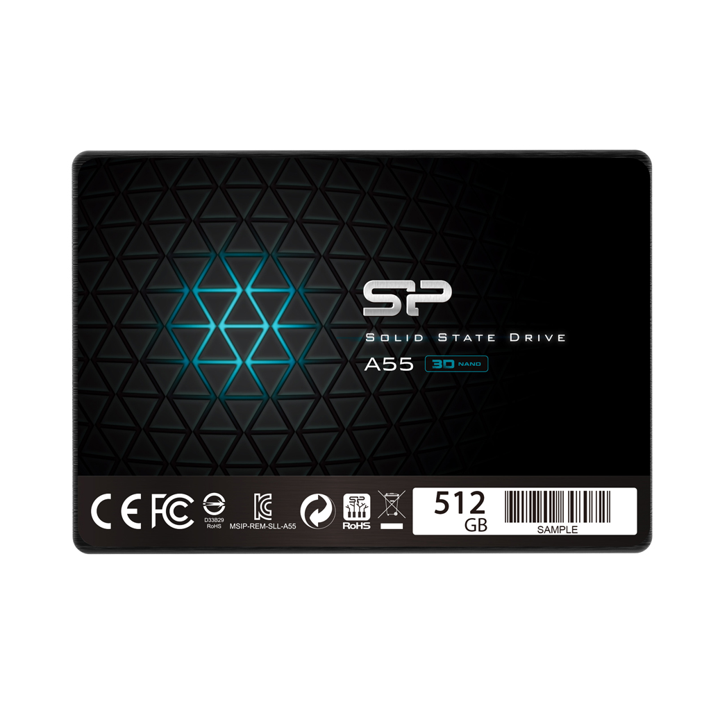 Hard Disk SSD Silicon Power Ace A55 512GB 2.5
