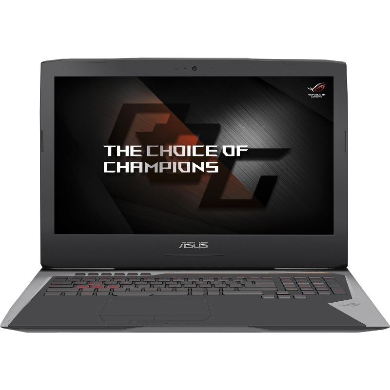 Notebook Asus ROG G752VS(KBL) 17.3 Full HD Intel Core i7-7700HQ GTX 1070-8GB RAM 16GB HDD 1TB + SSD 256GB Windows 10 Gri