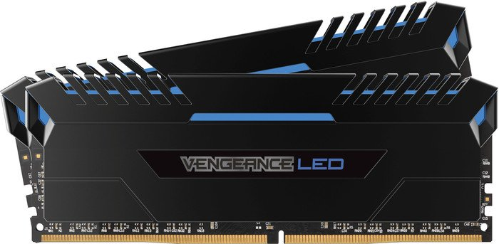 Memorie Desktop Corsair Vengeance LED 16GB(2 x 8GB) DDR4 3200MHz Blue