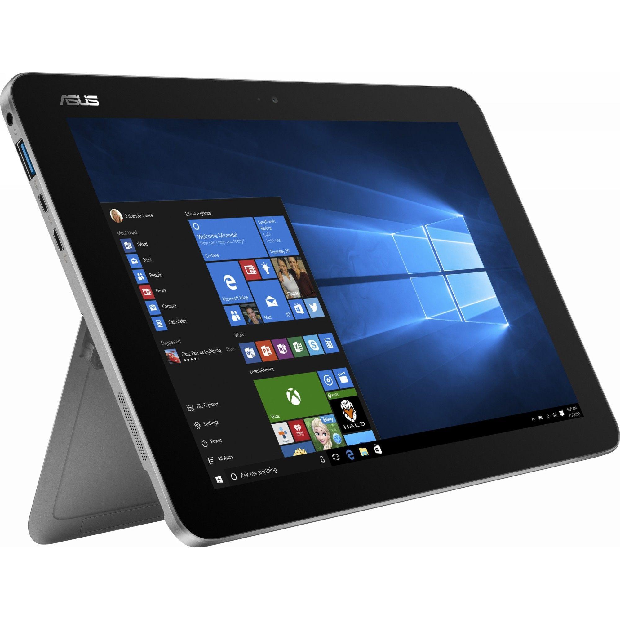 Tableta Asus Transformer Mini T102HA 10.1 64GB Flash 4GB RAM Windows 10 Home Grey