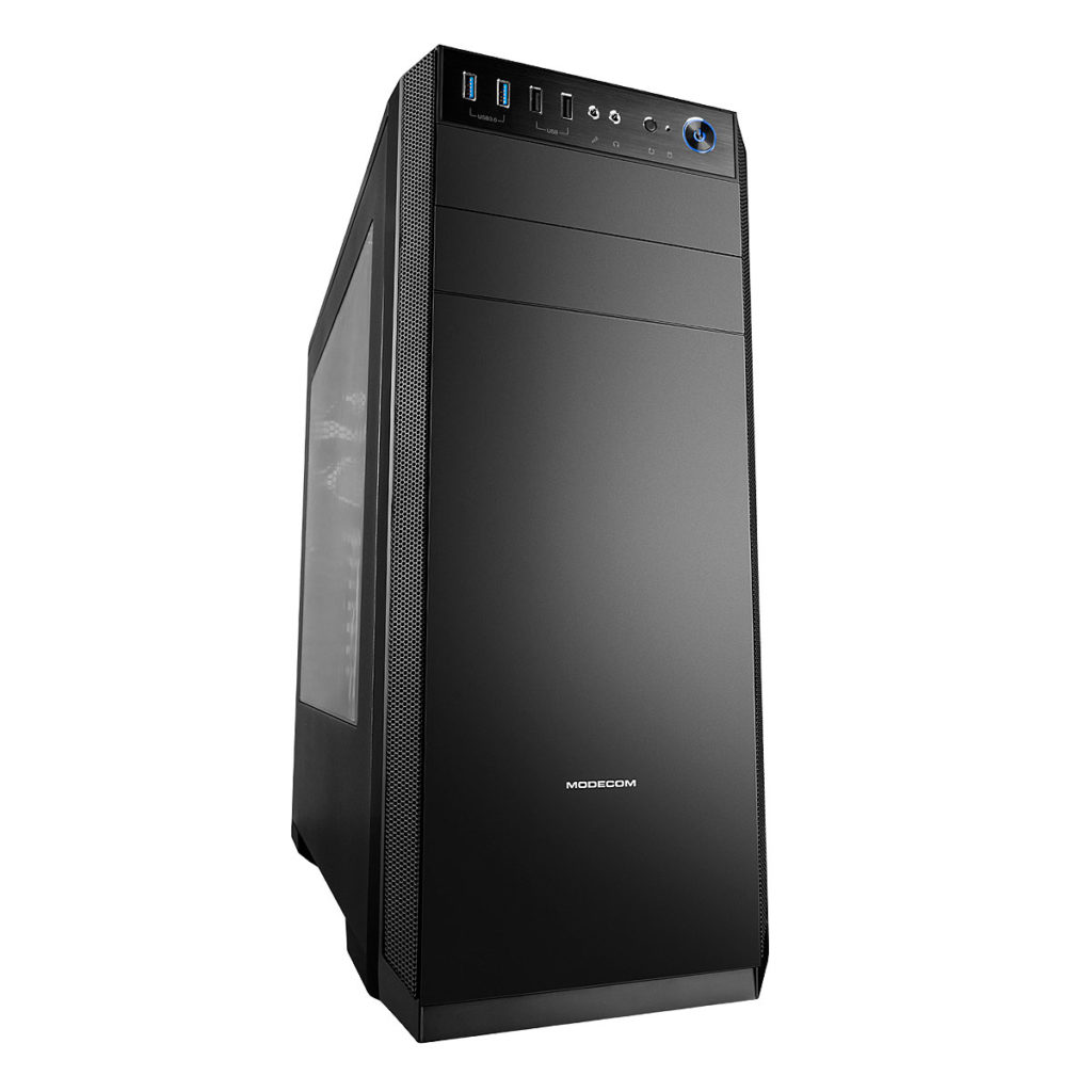 Carcasa PC Modecom Oberon 2F Black