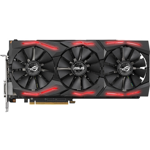 Placa Video ASUS ROG Strix RX Vega 56 OC 8GB HBM2 2048 biti