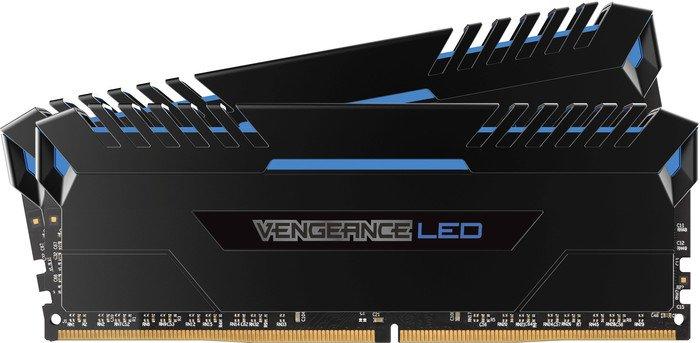 Memorie Desktop Corsair Vengeance LED 32GB(2 x 16GB) DDR4 3000MHz Blue