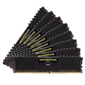 Memorie Desktop Corsair Vengeance LPX 64GB(8 x 8GB) DDR4 2400MHz Black