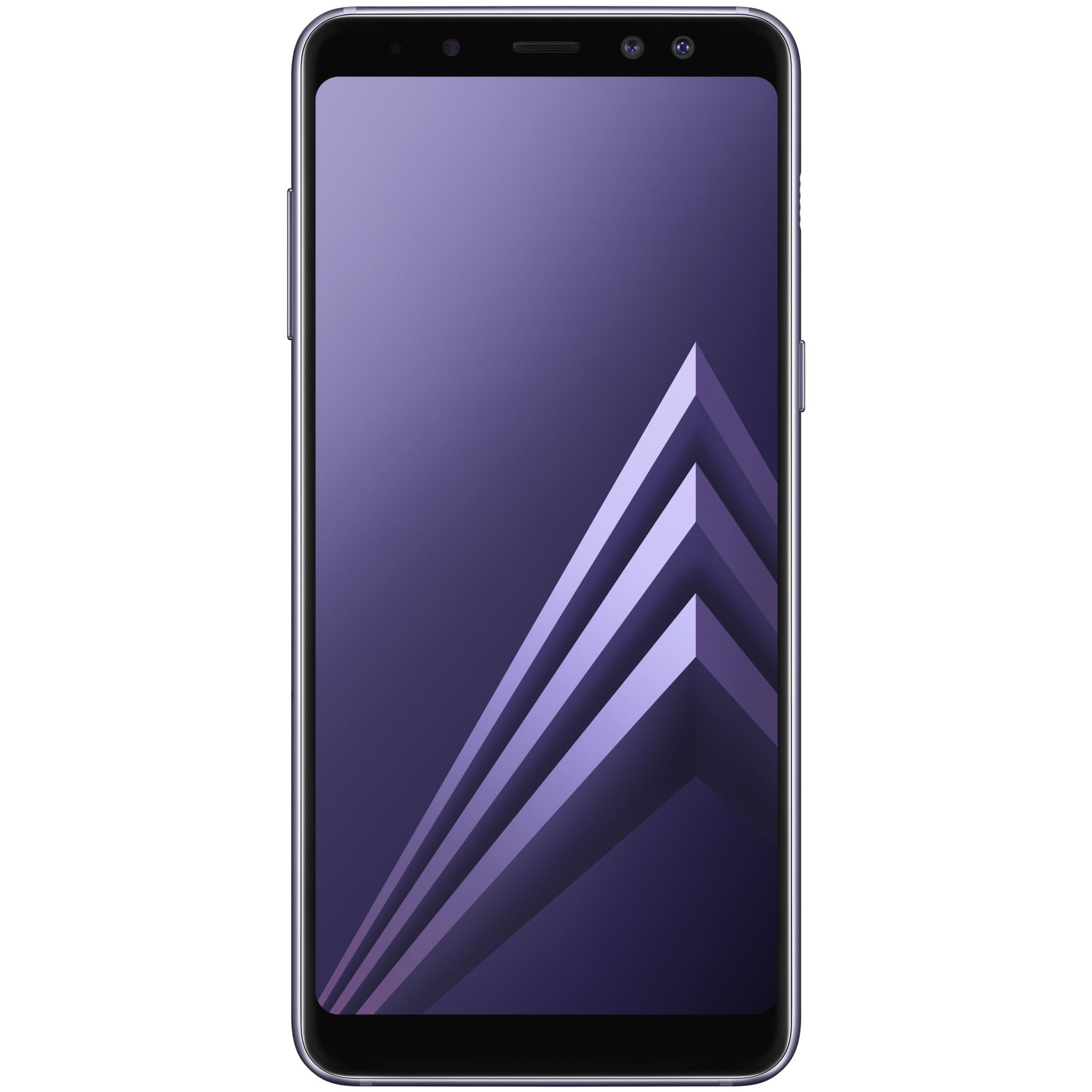 Telefon Mobil Samsung Galaxy A8 (2018) 32GB Flash 4GB RAM Dual SIM 4G Orchid Gray