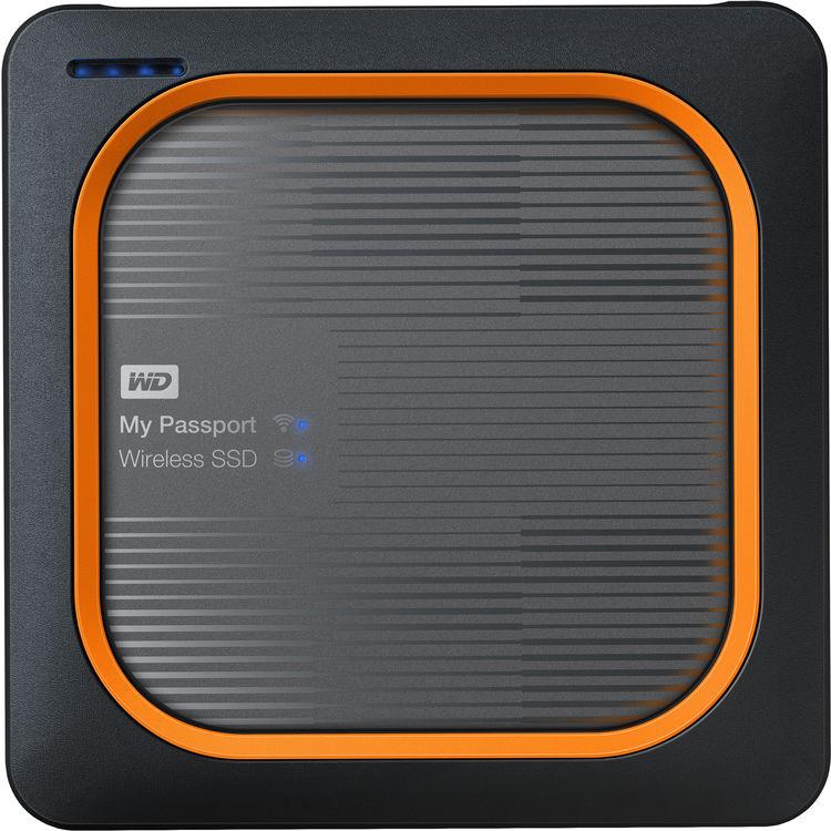 Hard Disk SSD Western Digital My Passport Wireless 1TB USB 3.0