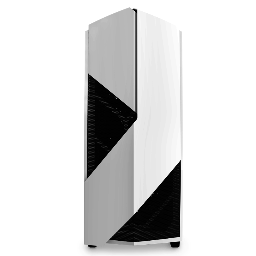 Carcasa PC NZXT Noctis 450 Glossy White