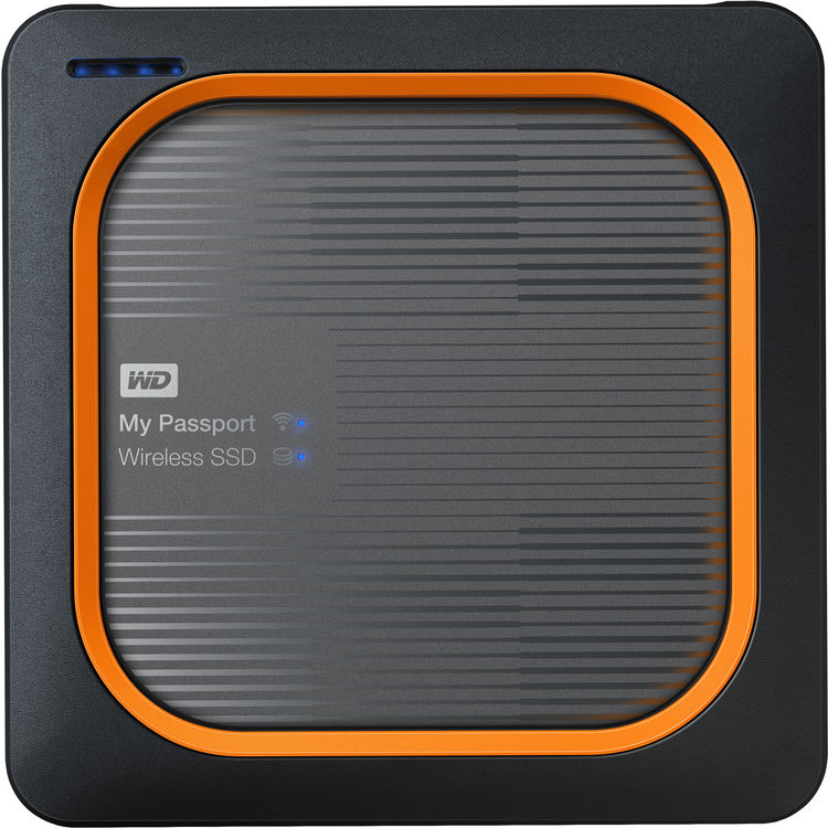 Hard Disk SSD Western Digital My Passport Wireless 2TB USB 3.0