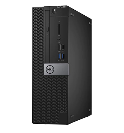 Sistem Brand Dell Optiplex 5055 AMD Ryzen 5 PRO 1500 R5 430-2GB RAM 8GB HDD 1TB + SSD 256GB Windows 10 Pro