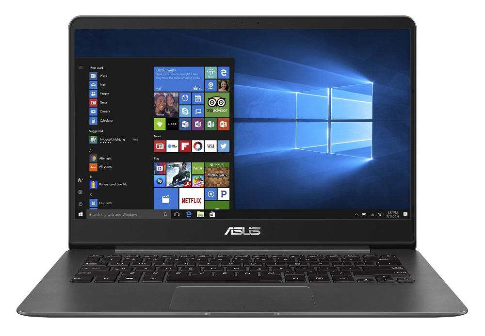 Ultrabook Asus ZenBook UX430UN 14 Full HD Intel Core i7-8550U MX150-2GB RAM 16GB SSD 256GB Windows 10 Home Gri