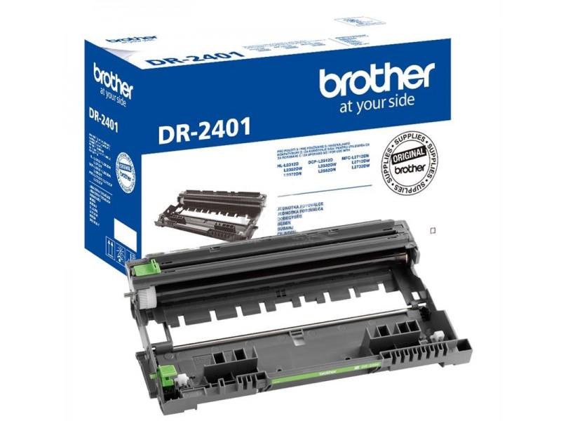Drum unit Brother DR-2401 Black 12000 pagini