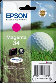 Cartus Inkjet Epson SinglePack Magenta 34 DURABrite 300 pagini