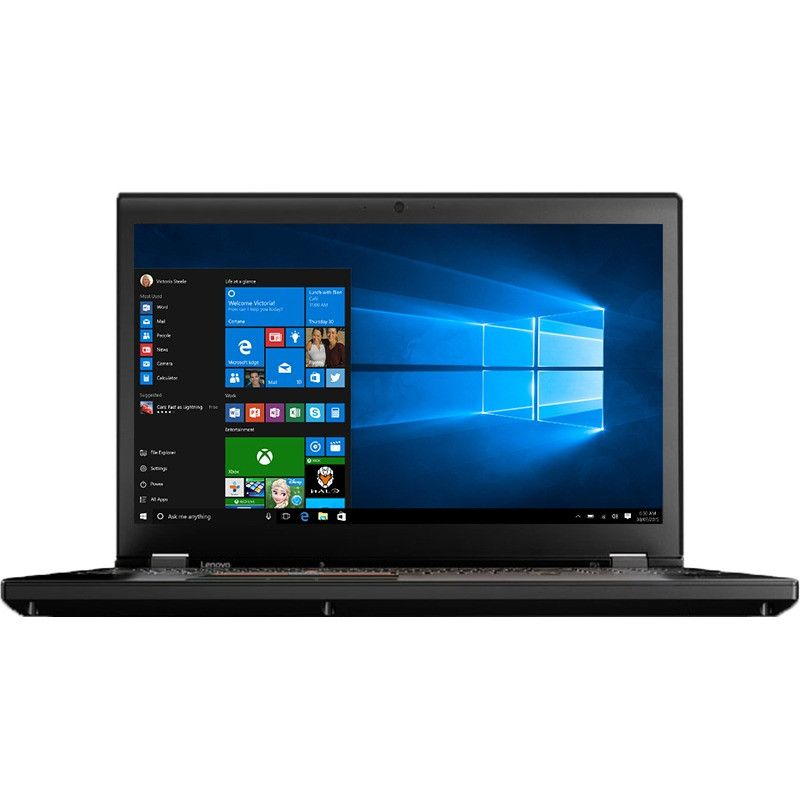 Notebook Lenovo ThinkPad P51 15.6 Full HD Intel Core i7-7820HQ Quadro M2200M-4GB RAM 16GB SSD 512GB Windows 10 Pro