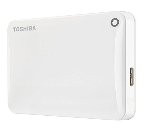 Hard Disk Extern Toshiba Canvio Connect II 3TB White