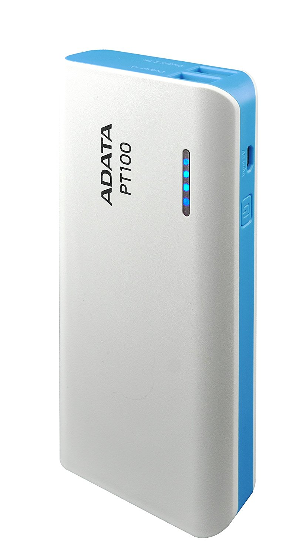 Baterie Externa A-Data PT100 10000 mAh Albastru