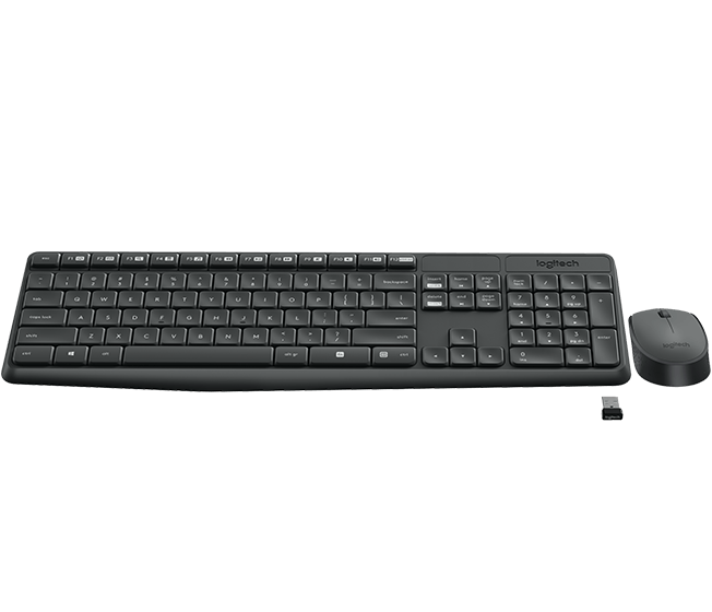 Kit Tastatura & Mouse Logitech MK235 Russian Layout
