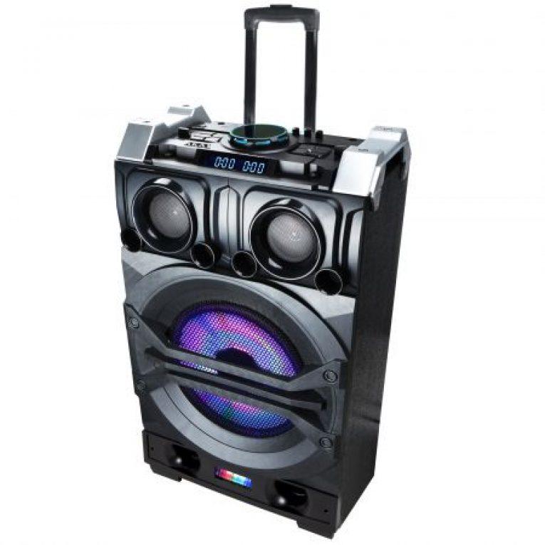 Boxa Portabila AKAI DJ Mixer HT015A-10 70W Bluetooth FM Radio