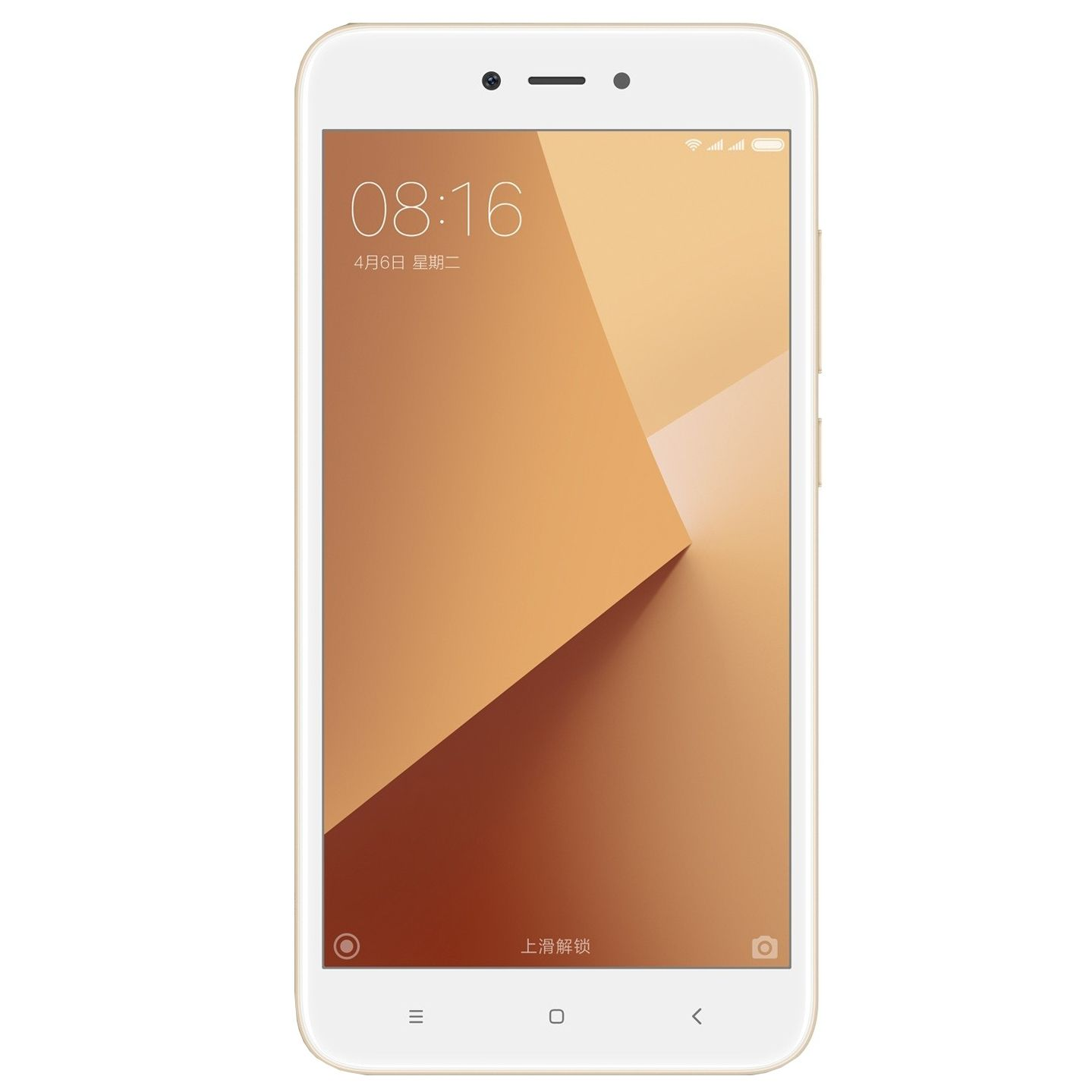 Telefon mobil Xiaomi Redmi Note 5A Prime 32GB Flash 3GB RAM Dual SIM 4G Gold