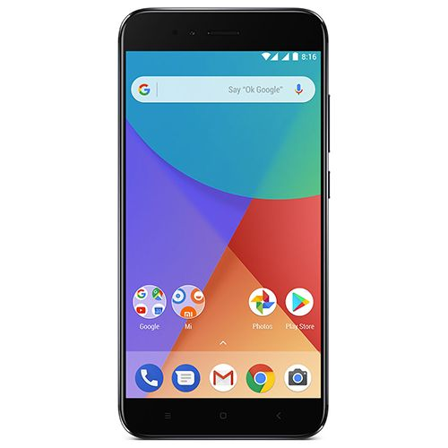 Telefon Mobil Xiaomi A1 32GB Flash 4GB RAM Dual SIM 4G Black