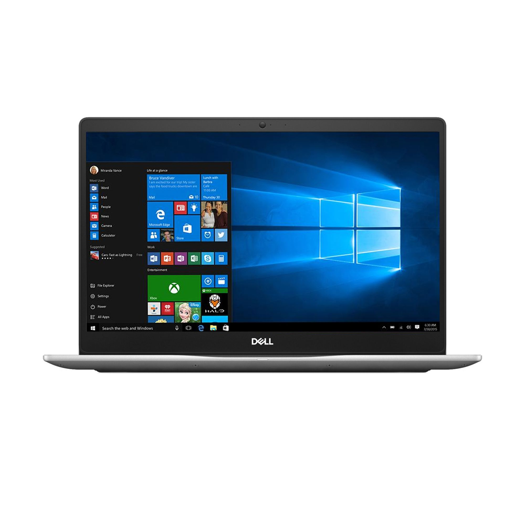 Notebook Dell Inspiron 7570 15.6 Full HD Intel Core i7-8550U 940MX-4GB RAM 8GB HDD 1TB + SSD 256GB CIS Windows 10 Pro