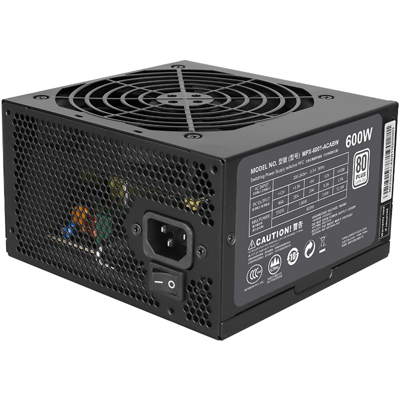 Sursa PC Cooler Master MasterWatt Lite 600W title=Sursa PC Cooler Master MasterWatt Lite 600W