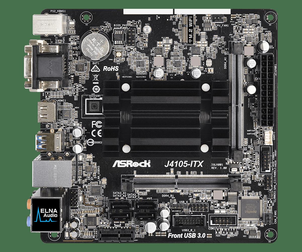 Placa de baza ASRock J4105-ITX Procesor Integrat Intel Celeron J4105 title=Placa de baza ASRock J4105-ITX Procesor Integrat Intel Celeron J4105