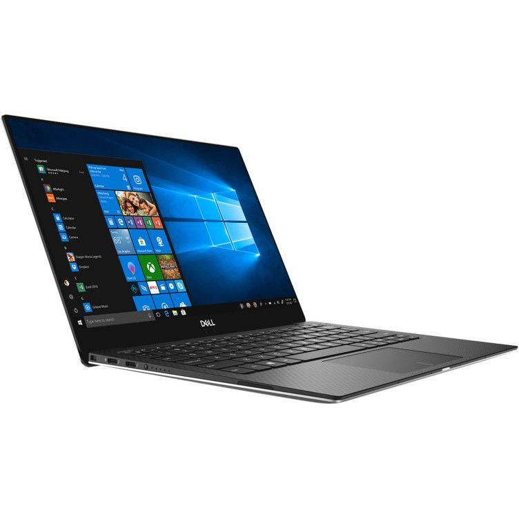 Ultrabook Dell XPS 13 9370 13.3 Ultra HD Intel Core i7-8550U RAM 16GB SSD 1TB Windows 10 Pro Argintiu