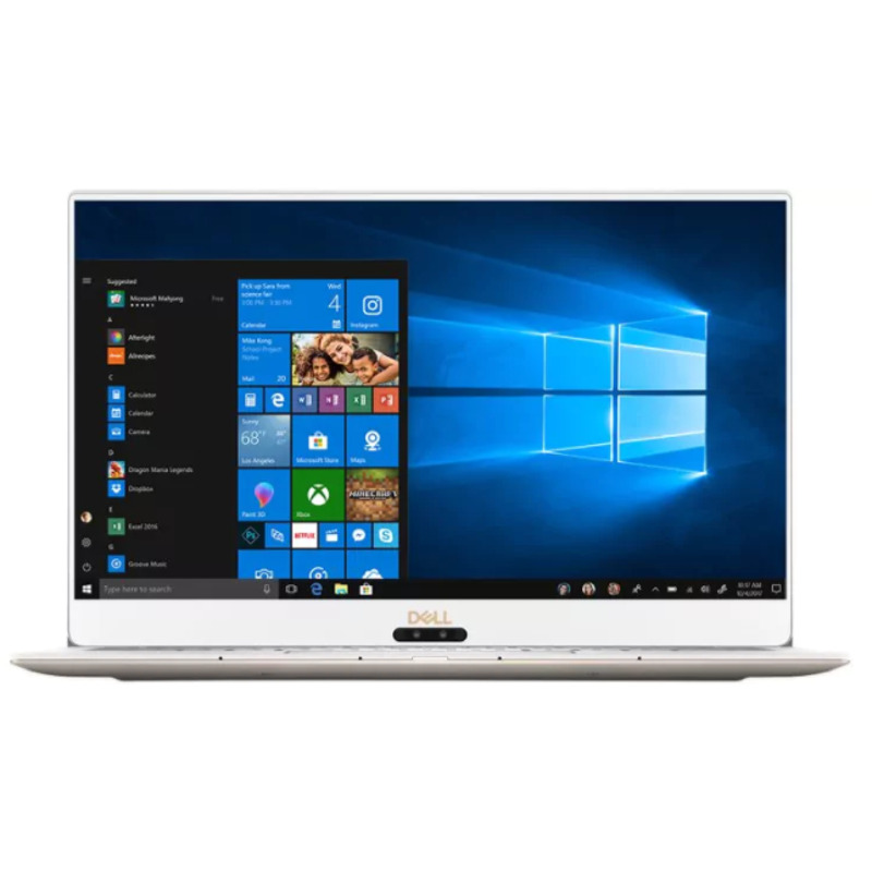 Ultrabook Dell XPS 13 9370 13.3 Ultra HD Intel Core i7-8550U RAM 8GB SSD 256GB Windows 10 Pro Roz