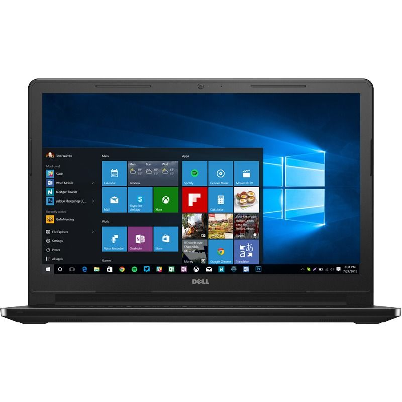 Notebook Dell Inspiron 3567 15.6 Full HD Intel Core i5-7200U RAM 4GB HDD 1TB Windows 10 Home