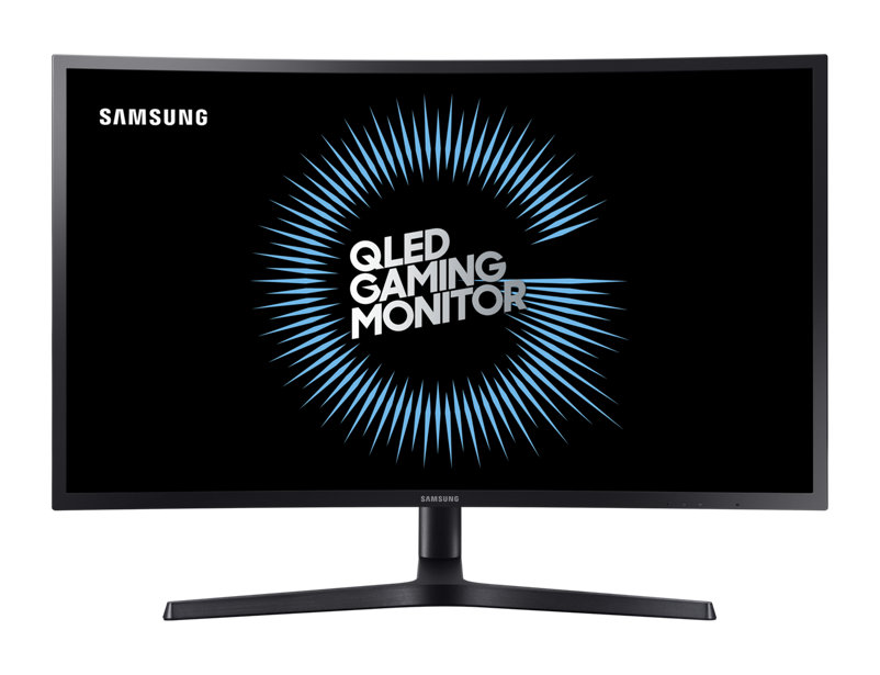 Monitor LED Samsung C27HG70 Curbat 27 WQHD Q-Dot 1ms