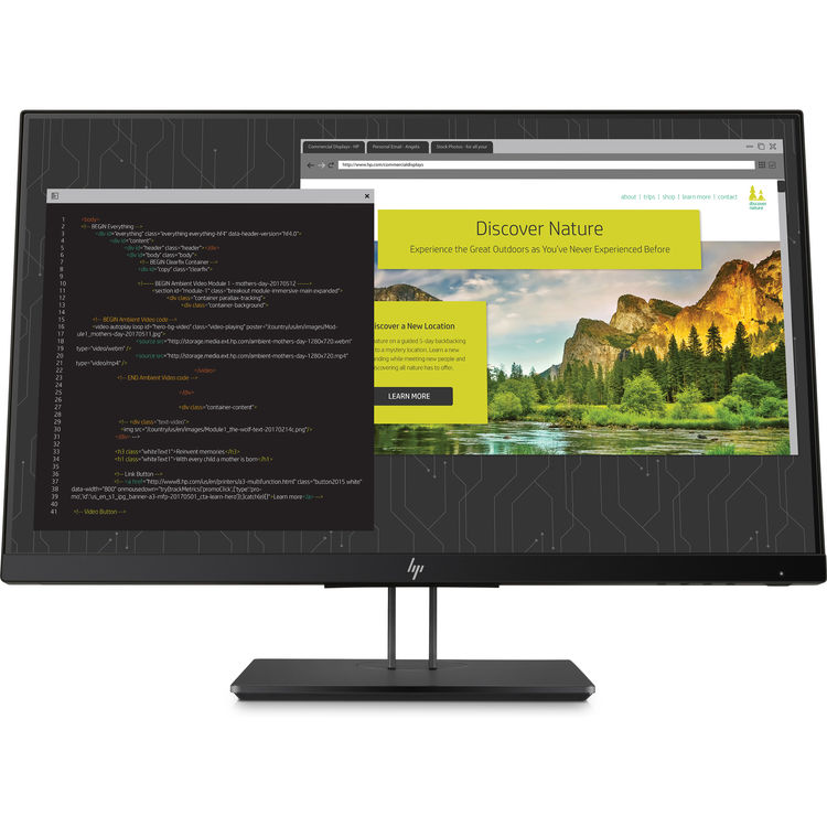 Monitor LED HP Z24nf G2 23.8 5ms Full HD Negru