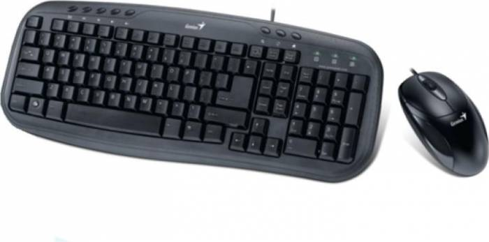Kit Tastatura & Mouse Genius KM-120 Negru