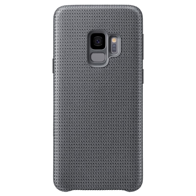 Capac protectie spate Hyperknit Cover Samsung EF-GG960 pentru Galaxy S9 G960 Grey title=Capac protectie spate Hyperknit Cover Samsung EF-GG960 pentru Galaxy S9 G960 Grey