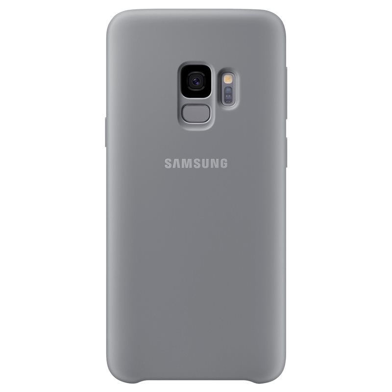 Capac protectie spate Silicone Cover Samsung EF-PG960 pentru Galaxy S9 G960 Grey title=Capac protectie spate Silicone Cover Samsung EF-PG960 pentru Galaxy S9 G960 Grey