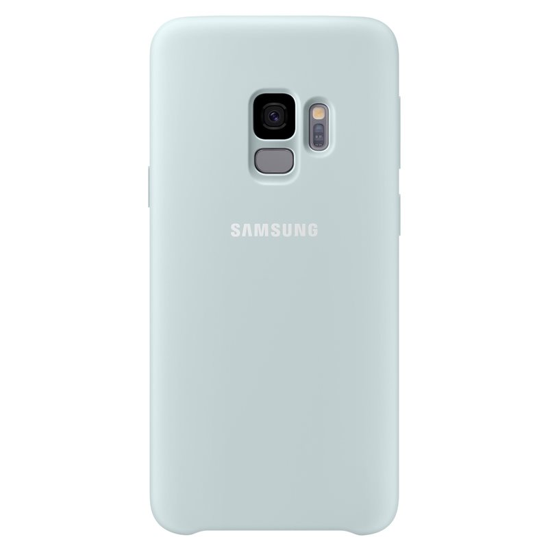 Capac protectie spate Silicone Cover Samsung EF-PG960 pentru Galaxy S9 G960 Blue