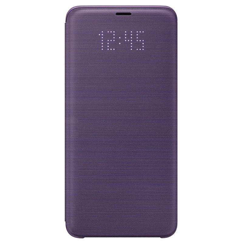 Husa LED Flip Wallet Samsung EF-NG965 pentru Samsung Galaxy S9 Plus G965 Violet