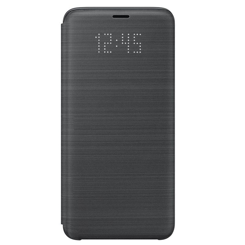 Husa LED Flip Wallet Samsung EF-NG960 pentru Samsung Galaxy S9 G960 Black