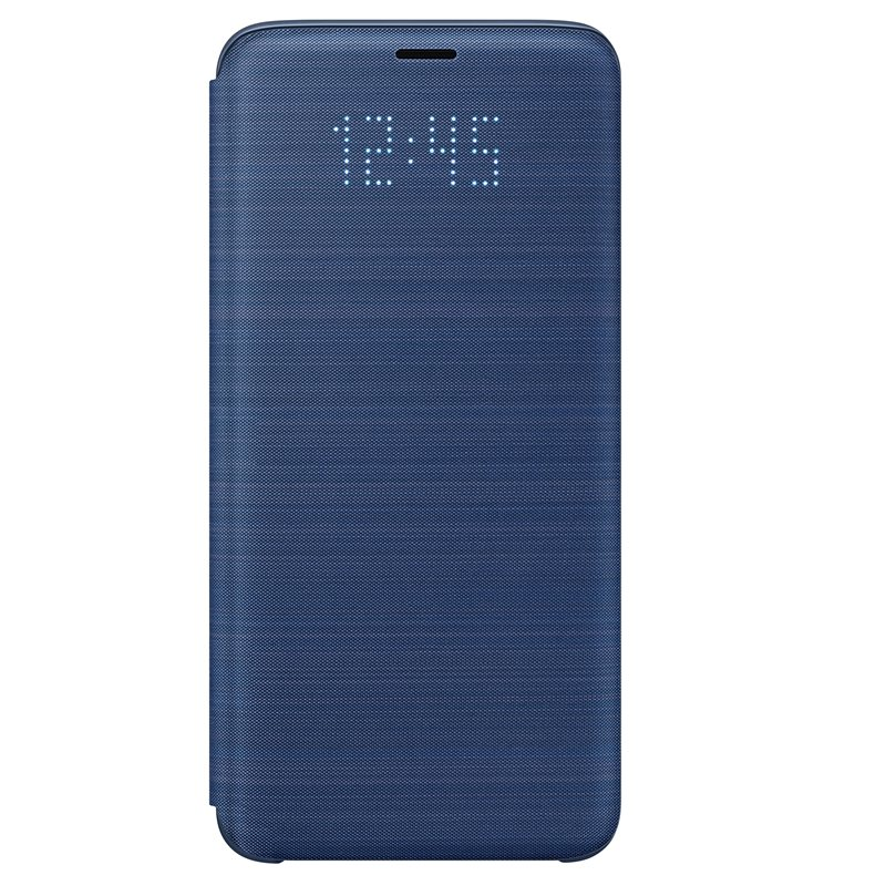 Husa LED Flip Wallet Samsung EF-NG960 pentru Samsung Galaxy S9 G960 Blue