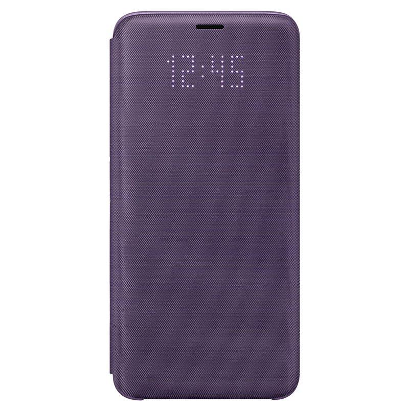 Husa LED Flip Wallet Samsung EF-NG960 pentru Samsung Galaxy S9 G960 Violet title=Husa LED Flip Wallet Samsung EF-NG960 pentru Samsung Galaxy S9 G960 Violet