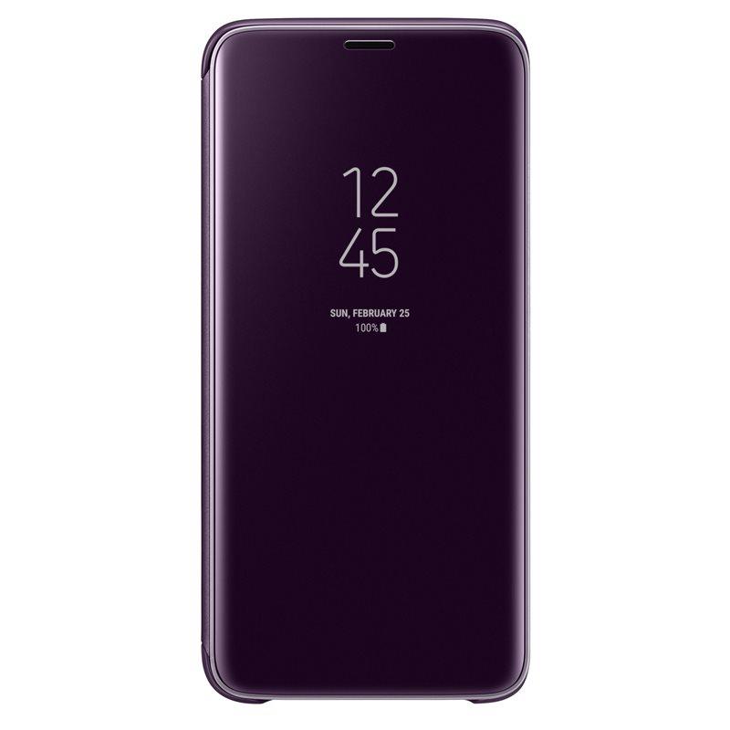 Husa Clear View Cover Samsung EF-ZG960 pentru Samsung Galaxy S9 G960 Violet