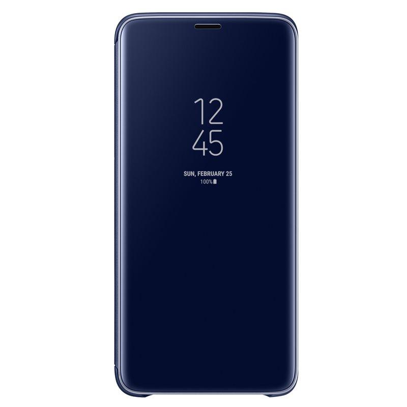 Husa Clear View Cover Samsung EF-ZG965 pentru Samsung Galaxy S9 Plus G965 Blue title=Husa Clear View Cover Samsung EF-ZG965 pentru Samsung Galaxy S9 Plus G965 Blue