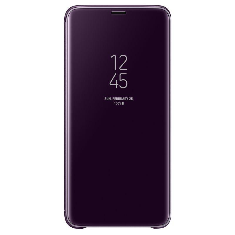 Husa Clear View Cover Samsung EF-ZG965 pentru Samsung Galaxy S9 Plus G965 Violet