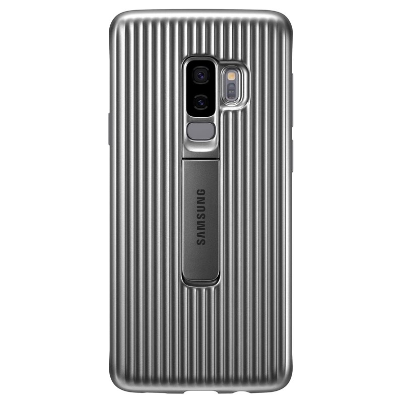 Capac protectie spate Protective Cover Samsung EF-RG965 pentru Galaxy S9 Plus G965 Silver title=Capac protectie spate Protective Cover Samsung EF-RG965 pentru Galaxy S9 Plus G965 Silver