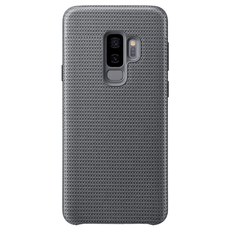 Capac protectie spate Hyperknit Cover Samsung EF-GG965 pentru Galaxy S9 Plus G965 Grey