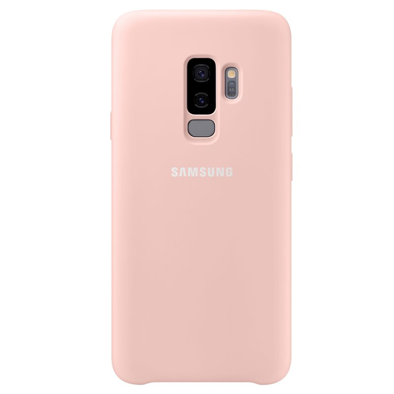 Capac protectie spate Silicone Cover Samsung EF-PG965 pentru Galaxy S9 Plus G965 Pink title=Capac protectie spate Silicone Cover Samsung EF-PG965 pentru Galaxy S9 Plus G965 Pink