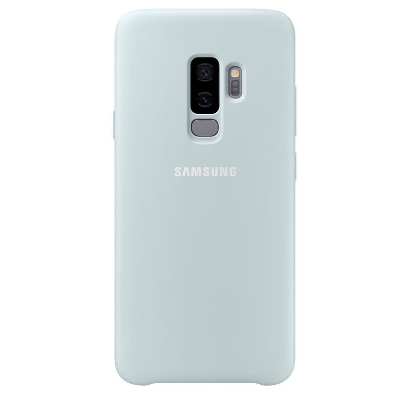 Capac protectie spate Silicone Cover Samsung EF-PG965 pentru Galaxy S9 Plus G965 Blue title=Capac protectie spate Silicone Cover Samsung EF-PG965 pentru Galaxy S9 Plus G965 Blue